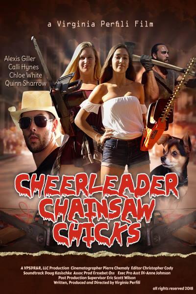Cheerleader Chainsaw Chicks