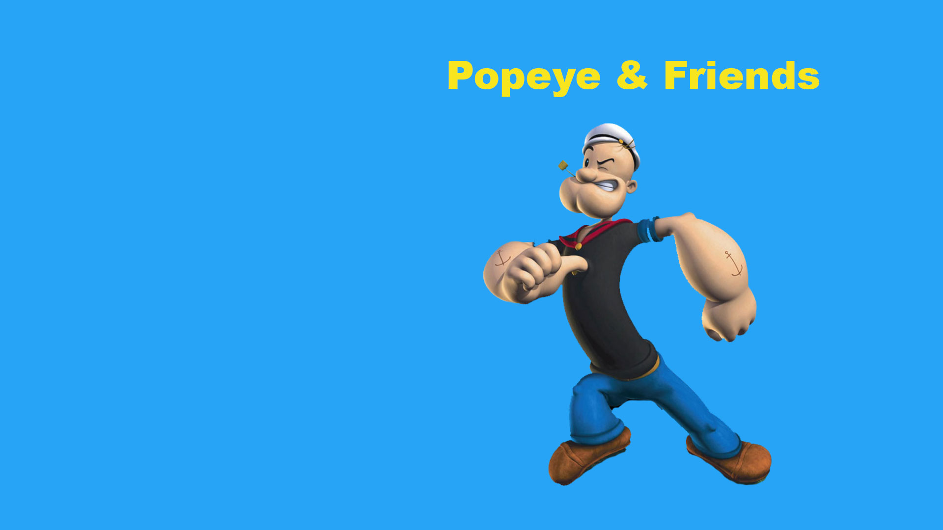 Popeye And Friends