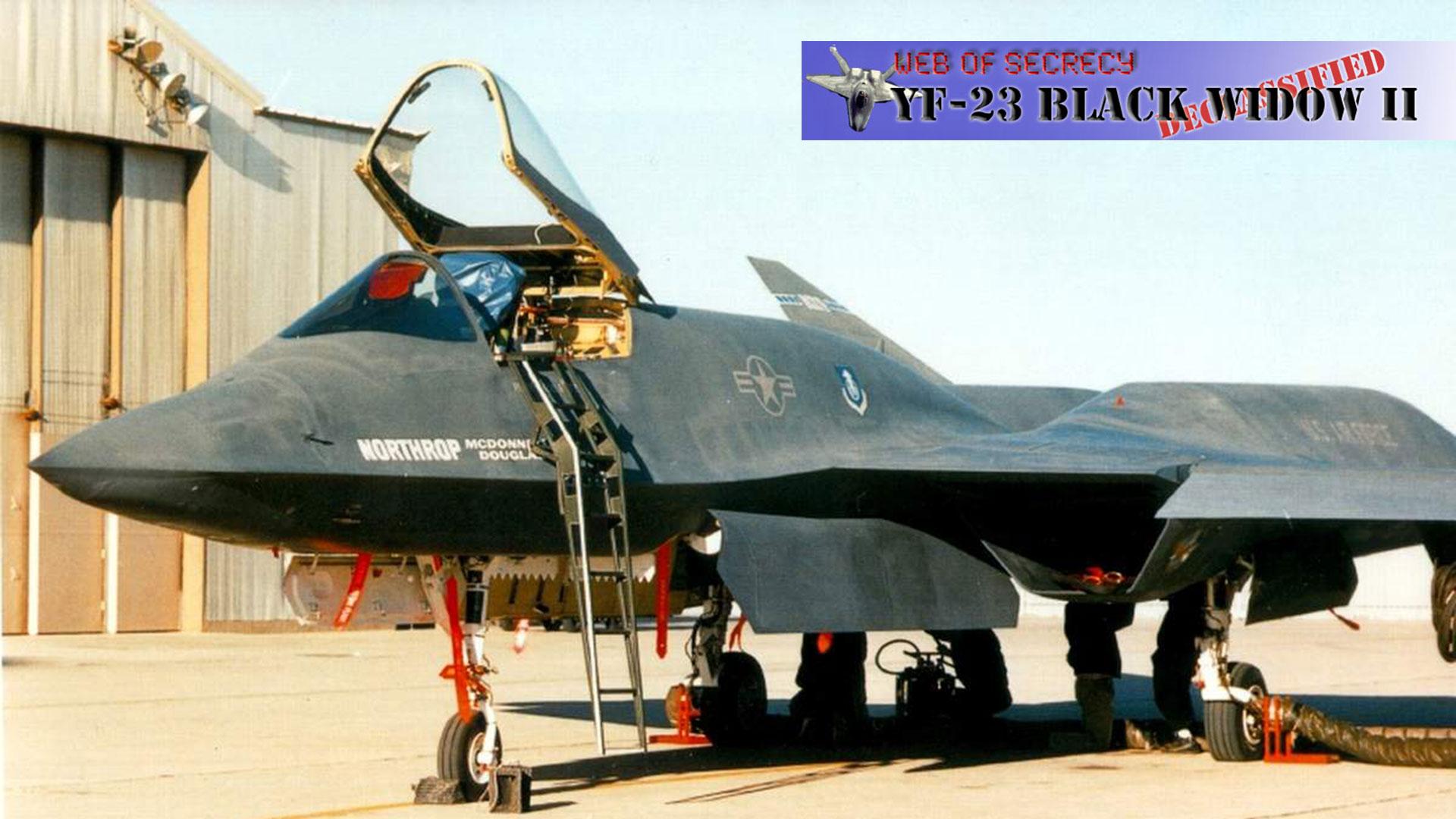 Web of Secrecy: YF-23 Black Widow II Declassified
