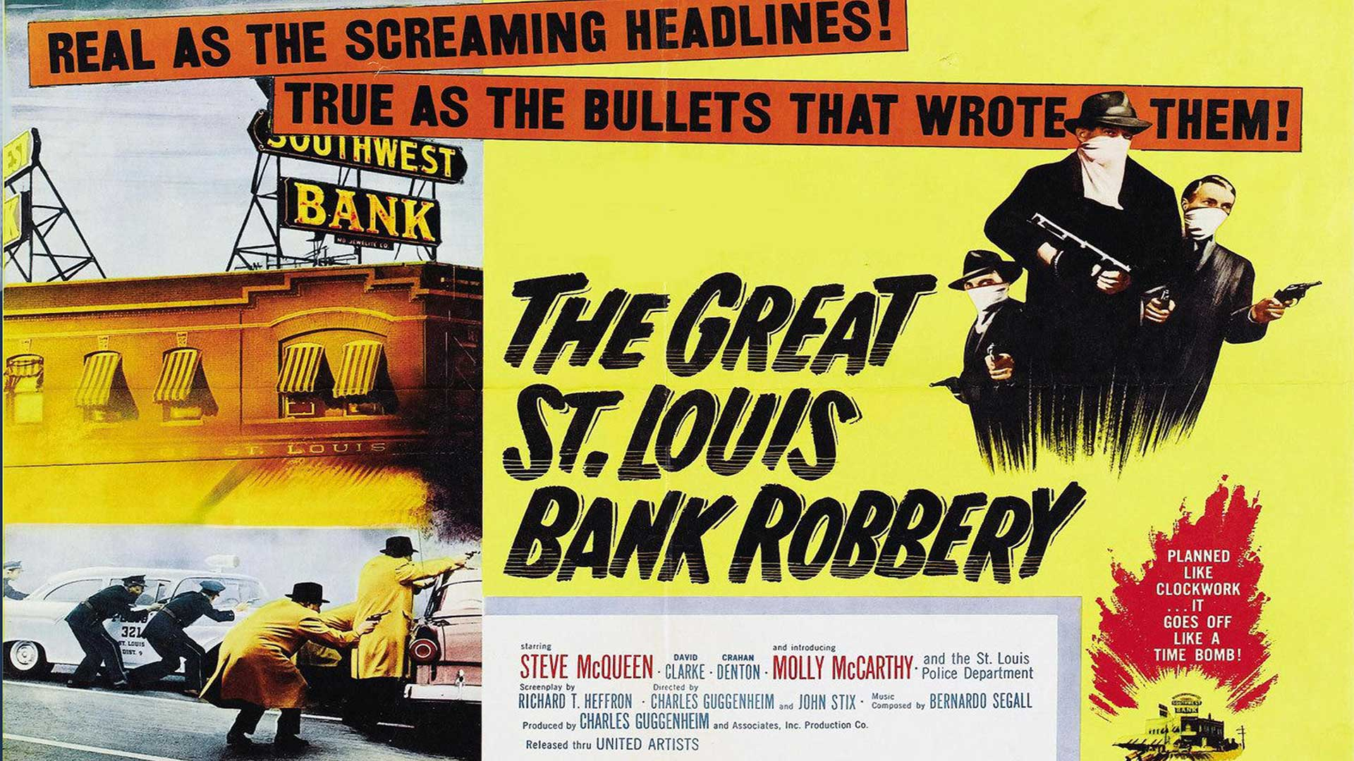 The St Louis Bank Robbery
