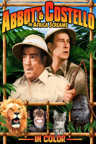 Abbott and Costello in Africa Screams (In Color)