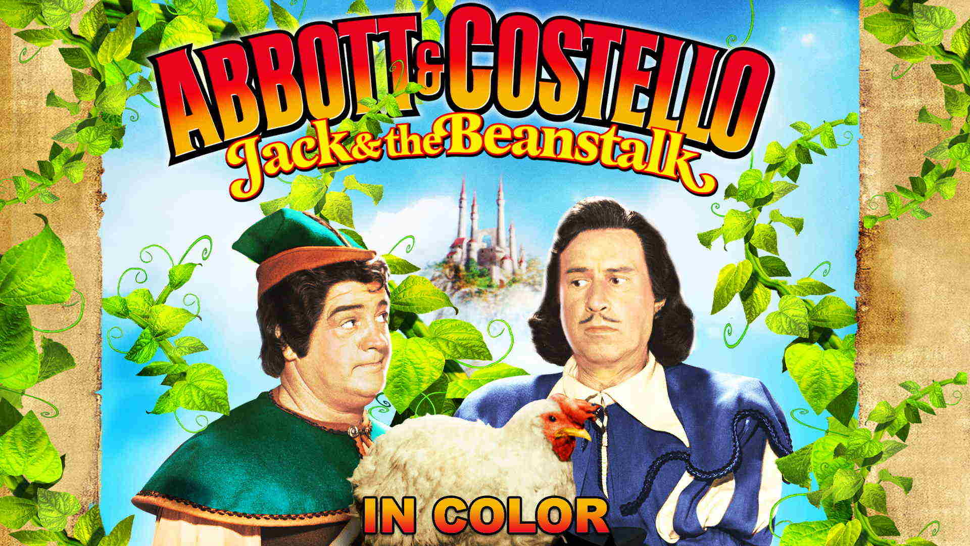 Abbott And Costello: Jack And The Beanstalk