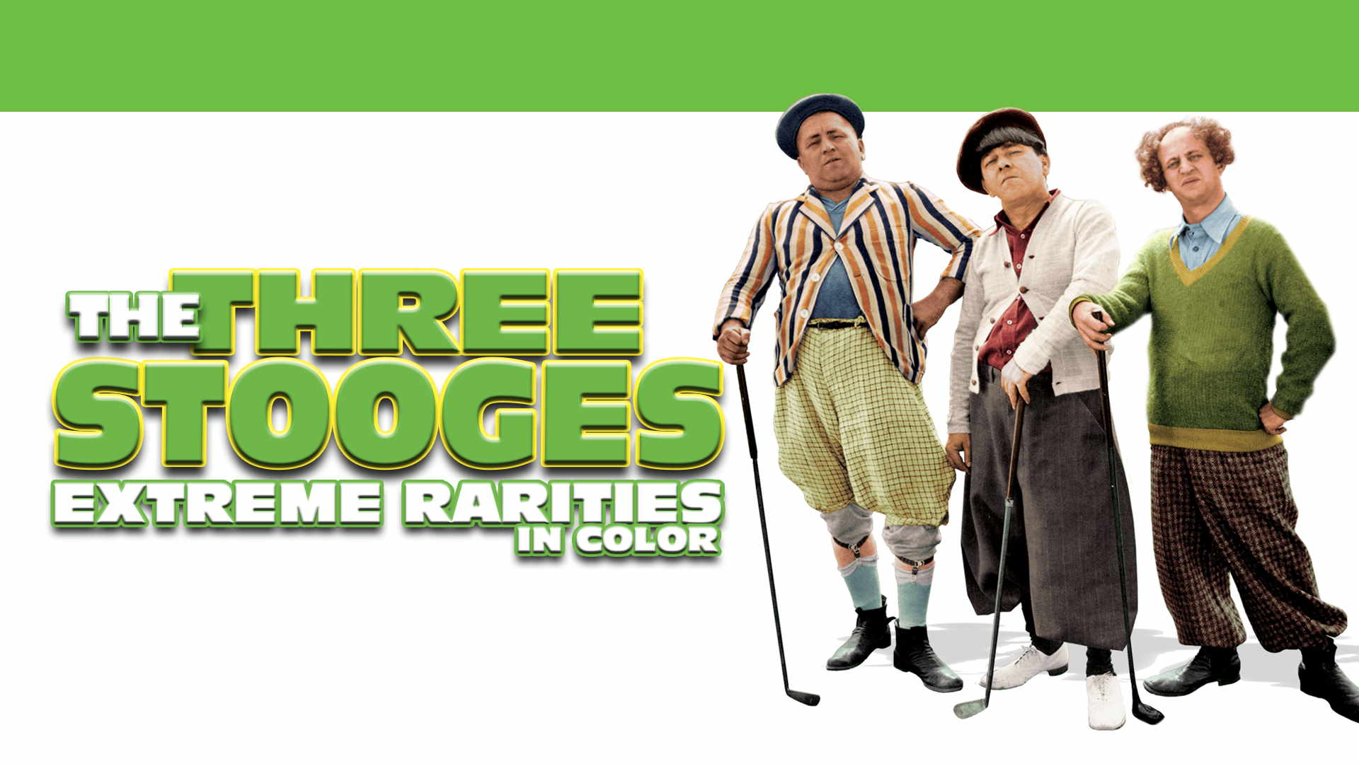 Three Stooges Extreme Rarities (In Color)