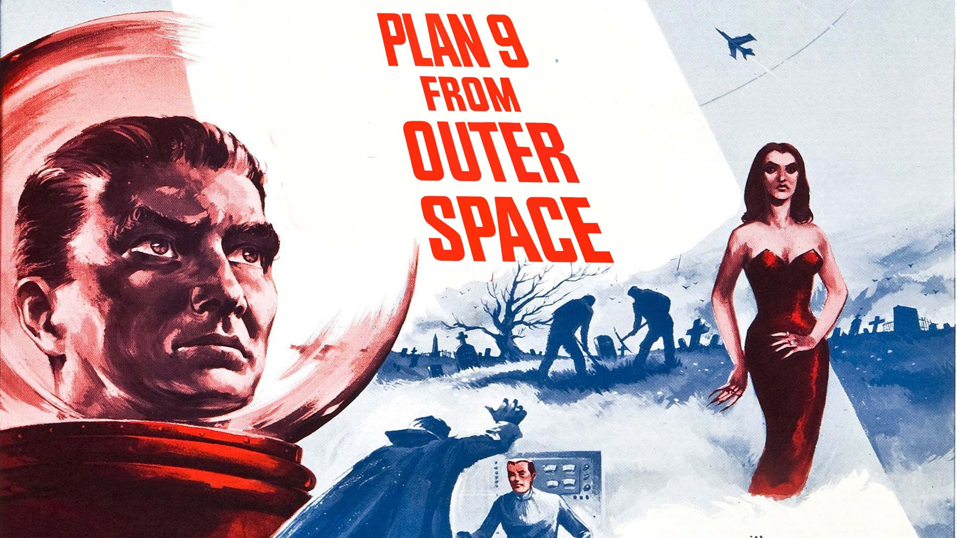 Plan 9 from Outer Space (Black and White)